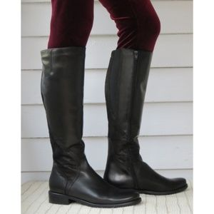 NEW SESTO MEUCCI tall leather boots Made in Italy